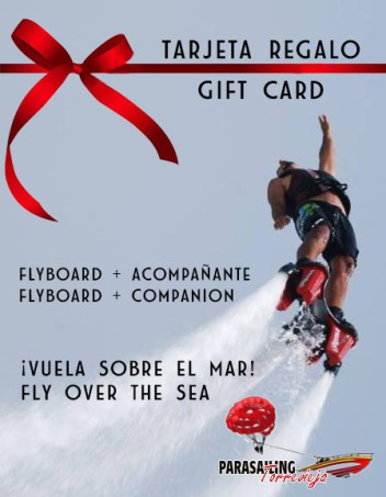 Gift Card Flyboard Torrevieja