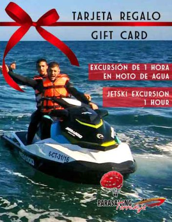 Gift Card Jet Ski Torrevieja Alicante