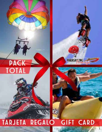 Gift Card Parasailing Flyboard Jet ski Banana